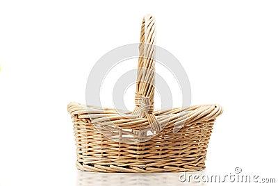 Empty halm basket