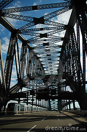 Free Empty Harbour Bridge Royalty Free Stock Image - 1786746