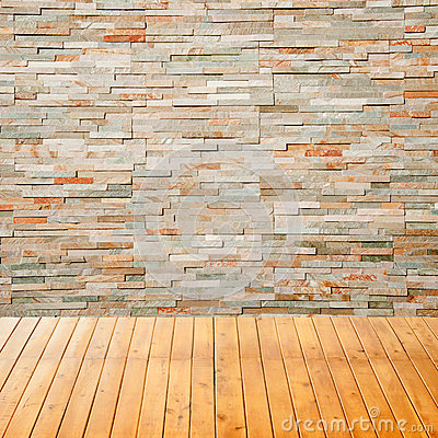 Rock Wall Design gardening with rocks Empty Interior Room With Rock Wall Background For Your Design