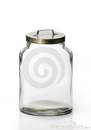 Free Empty Jar Royalty Free Stock Photos - 5359708