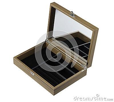 Empty jewelry box