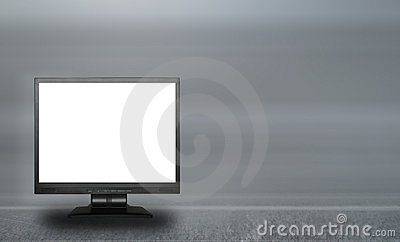 Empty lcd screen