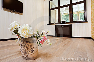 Empty living room interior in modern style