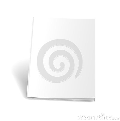 Free Empty Magazine On White Background. Perfect Blank Stock Photo - 48155580