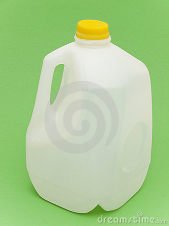 Empty Milk Carton For Recycling Stock Images - Image: 13363384