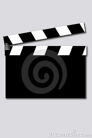 Free Empty Movie Clapper Royalty Free Stock Images - 285579