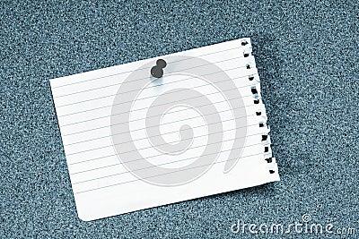 Empty note
