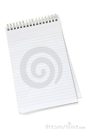 Free Empty Notepad Royalty Free Stock Photography - 3127217