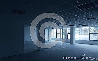 Empty office room interior