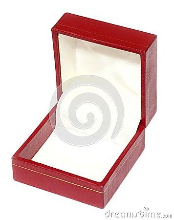 Empty ornament box