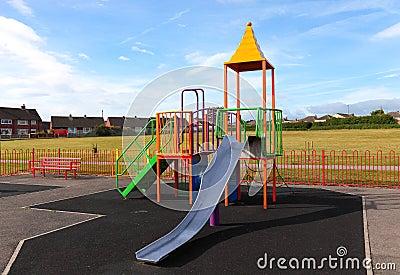 Empty Outdoor Children  Playground