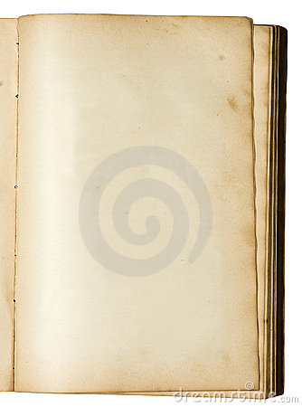 Free Empty Page Of A Very Old Book Stock Image - 464831