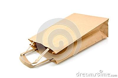 Empty Shopping Bag Royalty Free Stock Photography - Image: 18290517