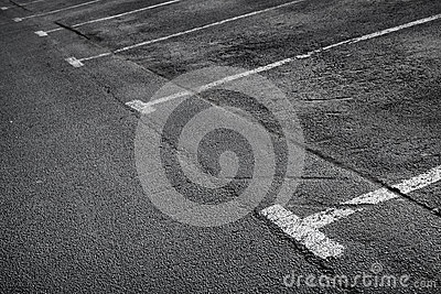 Empty parking. Background texture