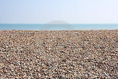 Empty Pebble Beach
