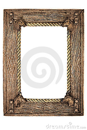Empty photo frame(with clipping path)