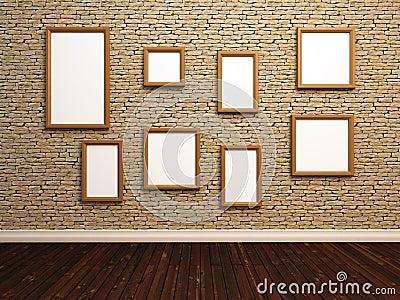 empty photo frames sto