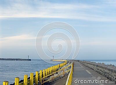 Empty pier.