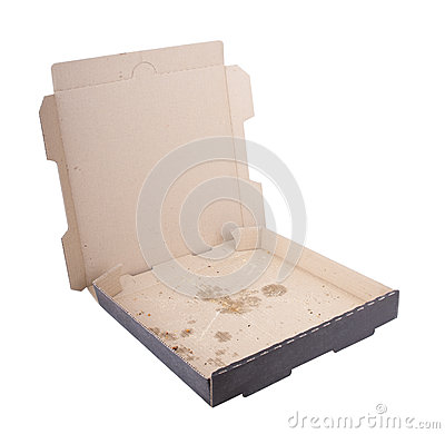 Free Empty Pizza Box Stock Images - 28798904