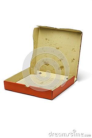 Empty Pizza Box Clipart - klejonka