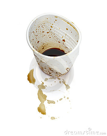 Free Empty Plastic Coffee Cup Drink Stock Images - 14293774