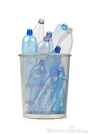 Free Empty Plastic Water Bottles Royalty Free Stock Image - 23678396