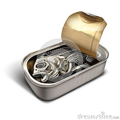 Empty promise stock illustration image 59712831 Empty sardine cans