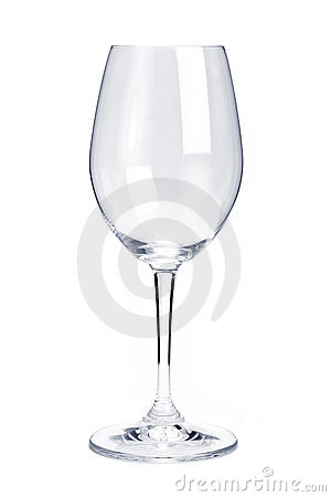 Free Empty Red Wine Glass Stock Images - 12733064
