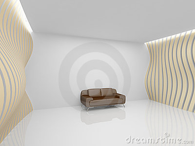 Empty relaxation room