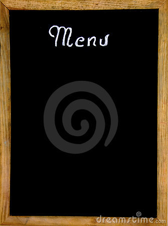 Free Empty Restaurant Menu Stock Photography - 9733382