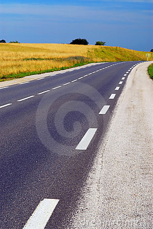 Free Empty Road Royalty Free Stock Image - 4043086
