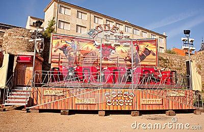 Empty Rodeo rides