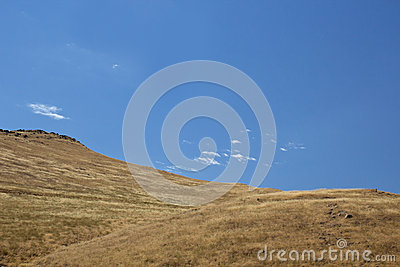 Empty Rolling Hillside