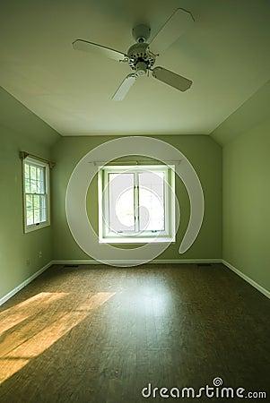 Empty room condominium