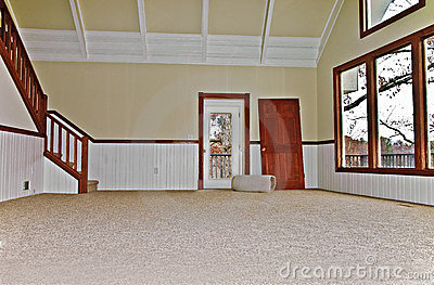 Empty Room with New Carpet