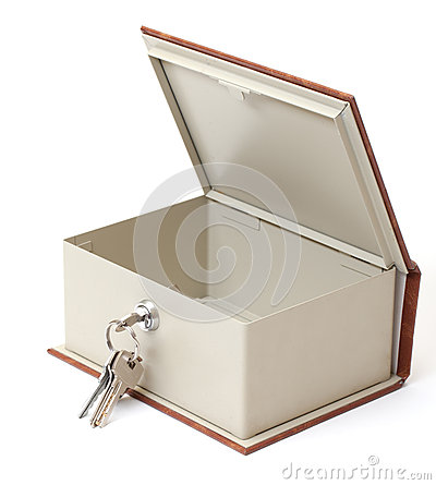 Empty Safe Box