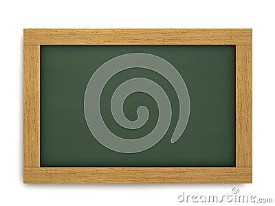 Empty School Chalkboard