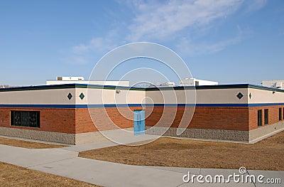 Empty school house
