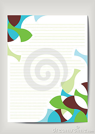 Empty sheet paper
