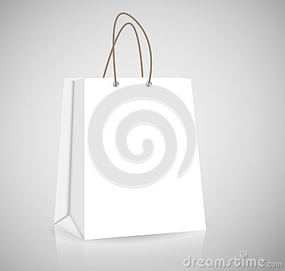 Free Empty Shopping Bag For Advertising And Branding Royalty Free Stock Image - 30510926