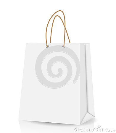Free Empty Shopping Bag For Advertising And Branding Stock Photo - 30998220