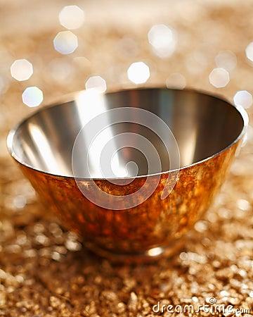 Empty Silver Bowl