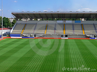Empty Soccer Stadium 3