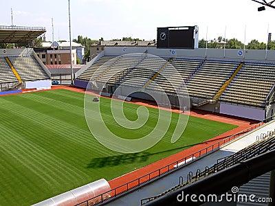 Empty soccer stadium 5