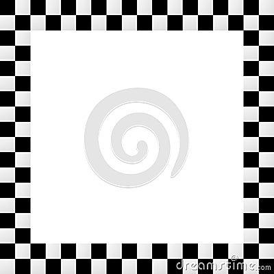 Free Empty Squarish Checkered Frame, Border Stock Photos - 71465903