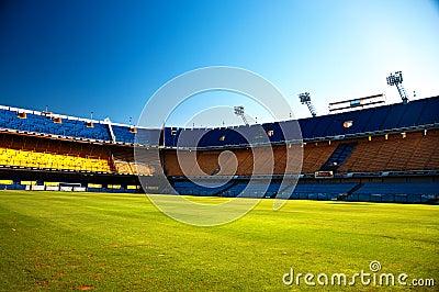 Empty Stadium Editorial Stock Photo