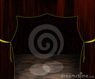 Empty Stage Illustration