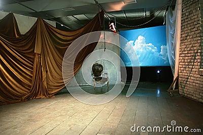 Empty Stage theatre