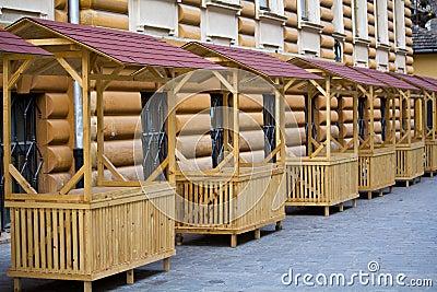 Empty stalls