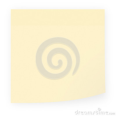 Empty sticky note